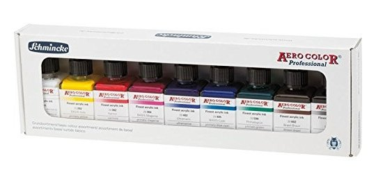 Airbrushfarbe, Hersteller Schmincke Aero Color Professional