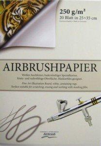 Airbrush-Block, Premium Qualität 350 x 250 mm