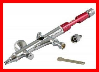 Agora-Airbrushpistole-mit-Fließbecher-5-Sterne-300x212m. rotem Rahmen