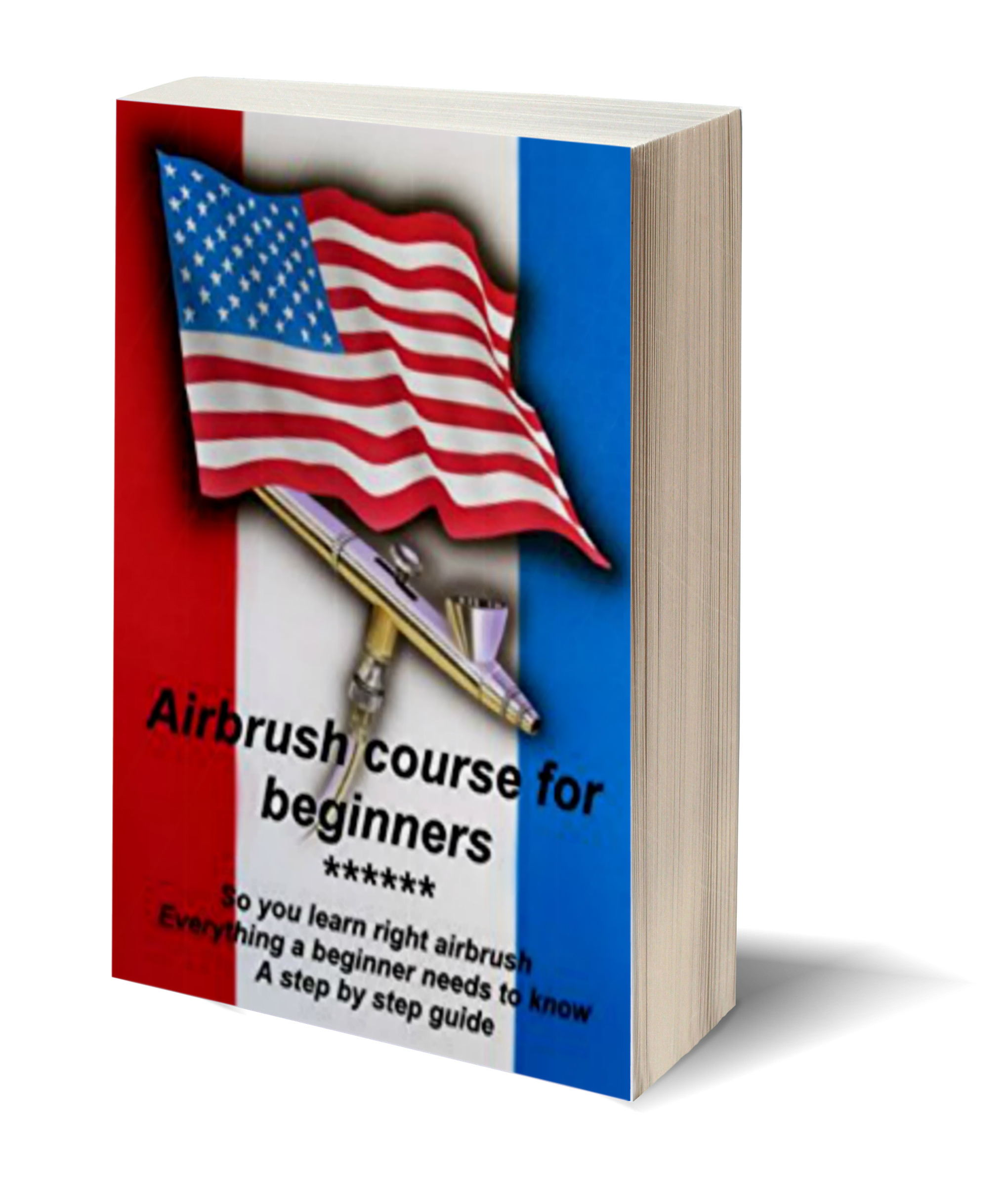 3d Book Template Airbrushcourse For Beginners Airbrush