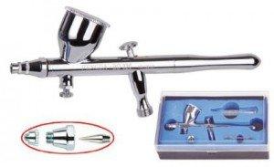 Airbrush Spritzpistole Fengda® BD-320 mit der Düse 0,3 mm41Vsh97C9kL._SX425_